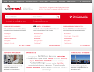 citymed.ch screenshot