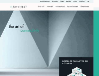citymesh.com screenshot
