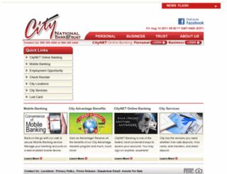 citynet.cnbok.com screenshot
