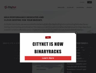 citynethost.com screenshot