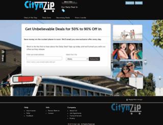citynzip.com screenshot
