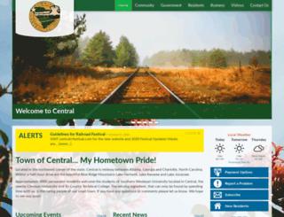 cityofcentral.org screenshot