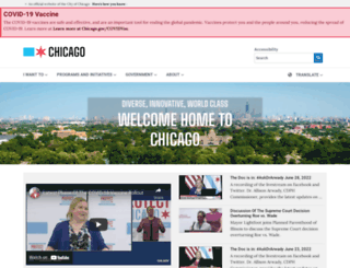 cityofchicago.org screenshot