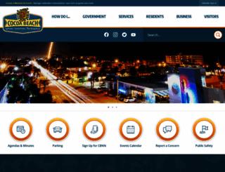 cityofcocoabeach.com screenshot
