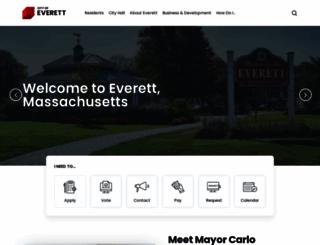 cityofeverett.com screenshot