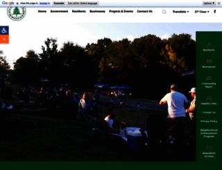 cityofgreenpark.com screenshot