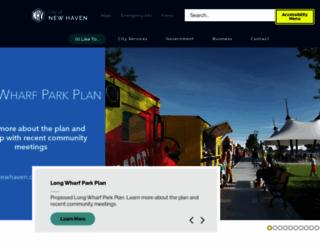 cityofnewhaven.com screenshot
