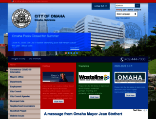 cityofomaha.org screenshot