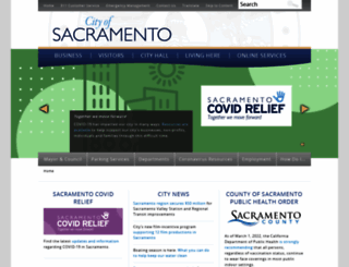 cityofsacramento.org screenshot