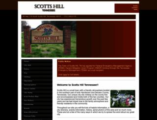 cityofscottshill.com screenshot