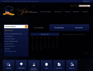 cityofstjohn.org screenshot