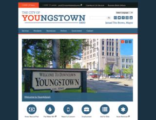 cityofyoungstownoh.com screenshot