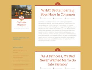citypeoplemag.wordpress.com screenshot