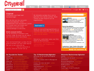 citypical.nl screenshot