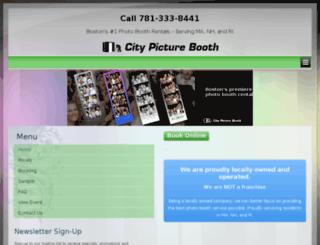 citypicturebooth.com screenshot