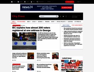 citypress.co.za screenshot