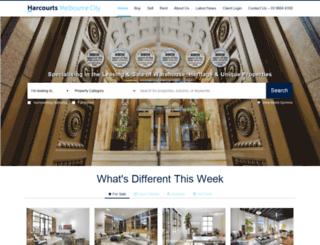 cityresidential.harcourts.com.au screenshot