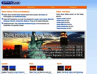 citysam.de screenshot
