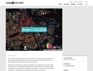 citysdk.waag.org screenshot