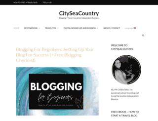 cityseacountry.com screenshot