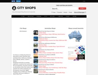 cityshops.com.au screenshot