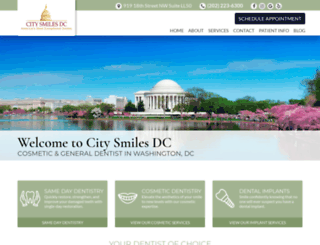 citysmilesdc.com screenshot