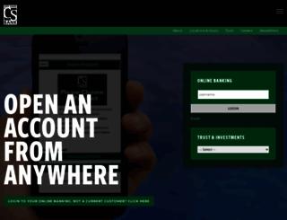 citystatebank.com screenshot