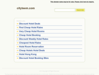 cityteem.com screenshot