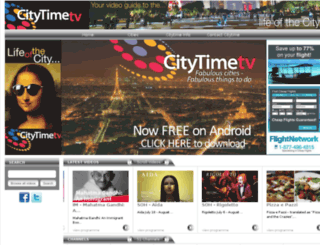 citytime.tv screenshot