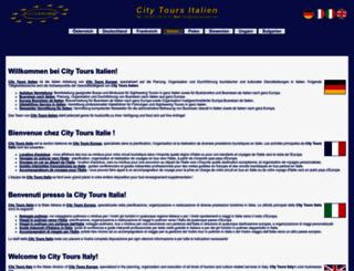 citytours-italy.com screenshot