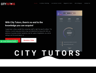 citytutors.com.ng screenshot