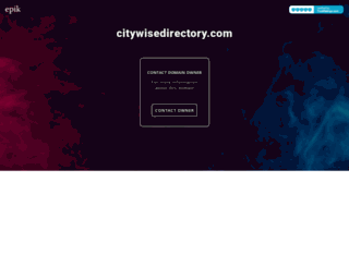 citywisedirectory.com screenshot