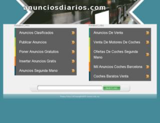 ciudad-valdivia.anunciosdiarios.com screenshot