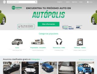 ciudadarequipa.olx.com.pe screenshot