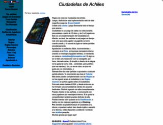 ciudadelas.frenopatico.net screenshot