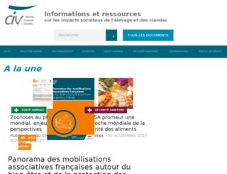 civ-viande.org screenshot