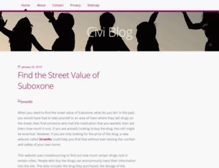 civiblog.org screenshot
