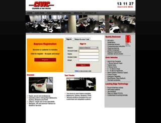 civic.com.au screenshot