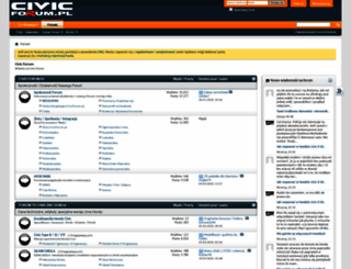 civicforum.pl screenshot