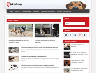 civiclub.org screenshot