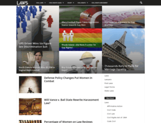 civil.laws.com screenshot