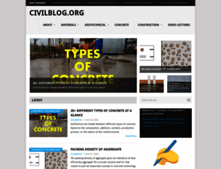 civilblog.org screenshot