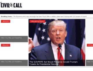 civilcall.com screenshot