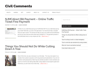 civilcomments.com screenshot