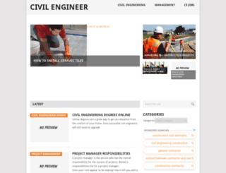 civilengineersite.com screenshot