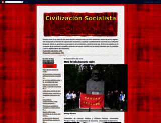 civilizacionsocialista.blogspot.com screenshot