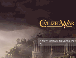 civilizedwar.com screenshot