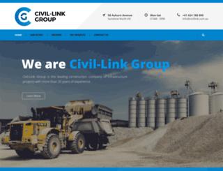 civillink.com.au screenshot