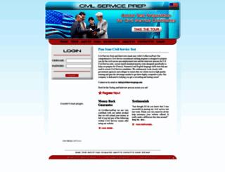 civilserviceprep.com screenshot