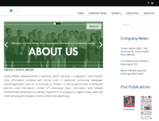 civitasmedia.com screenshot